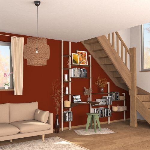ALIS étagère bureau sous escalier