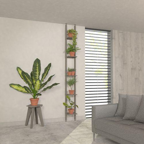 MAINA étagère colonne plantes