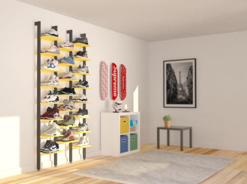 MALOU étagère collection sneakers